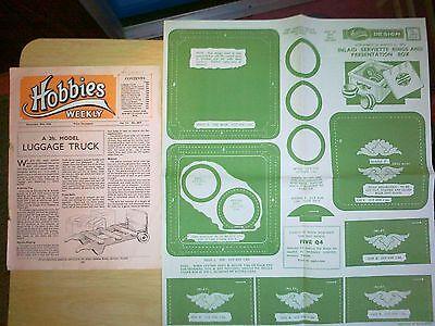 Coscienzioso Intarsiati Portatovaglioli Anelli E Scatola Di Presentazione In Legno Piano Craft-mostra Il Titolo Originale