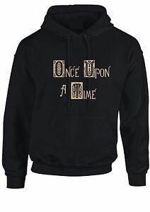 ONCE-UPON-A-TIME-Felpa-con-cappuccio-STORYBROOKE-Unisex-DONNE-BAMBINI-Tumblr