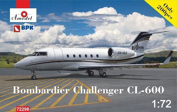 Amodel 1 72 Bombardier Challenger CL-600 'Billion Group'