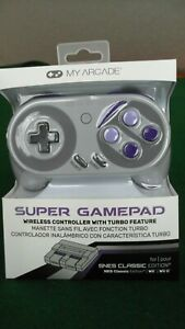 My-Arcade-Super-Gamepad-Wireless-Controller-Nintendo-SNES-NES-Classic-Edition