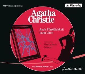AUCH-PUNKTLICHKEIT-KANN-TOTEN-EIN-HERCULE-POIROT-KRIMI-3-CD-NEU