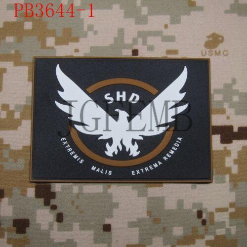 SHD EXTREMIS MALIS EXTREMIS REMEDIA 3D PVC Patch