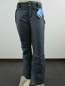 NWT Womens M Columbia On The Slope Waterproof Insulated Ski Winter Pants Blue