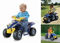Fisher Price Electric Power Wheels Sport Atv Kids Ride On Toddler Toys Battery