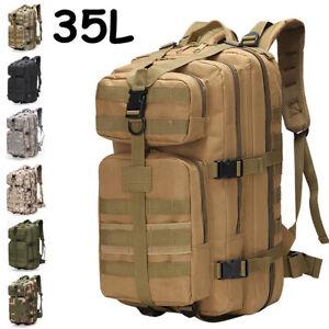 35L-Outdoor-Military-Tactical-Backpack-Hiking-Camping-Trekking-Rucksacks-Bag