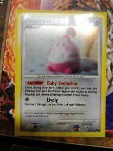 PROMO POKEMON POP Serie 8 N° 14//17 HAPPINY
