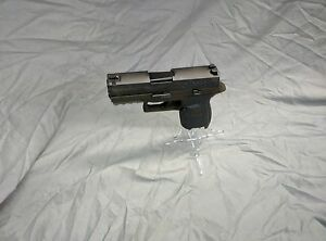 Display-Stand-Pistol-Acrylic-All-Sig-Sauer-Models-9mm-amp-40mm-Clear-034-ICE-034