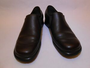 5e7603b3577 Mephisto Women Air-Relax Heeled Loafers Leather Shoes Size 9.5 Brown ...