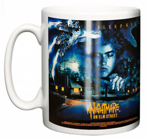 "Freddy Krueger Mug ""Classic Hollywood Movie Poster Nightmare on Elm Street"" Gift"