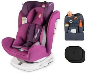 Chaise Pour Enfant Lionelo Bastiaan Isofix Violet Bébé Siège Auto Groupe 0+/ Iil