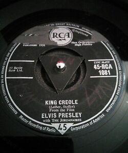 Elvis-Presley-Rey-Criollo-Vinilo-7-034-Tri-centro-Rca-1081-1958