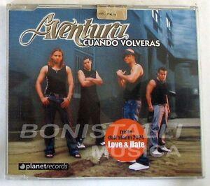 AVENTURA - CUANDO VOLVERAS - CD Single Nuovo Unplayed - Italia - AVENTURA - CUANDO VOLVERAS - CD Single Nuovo Unplayed - Italia