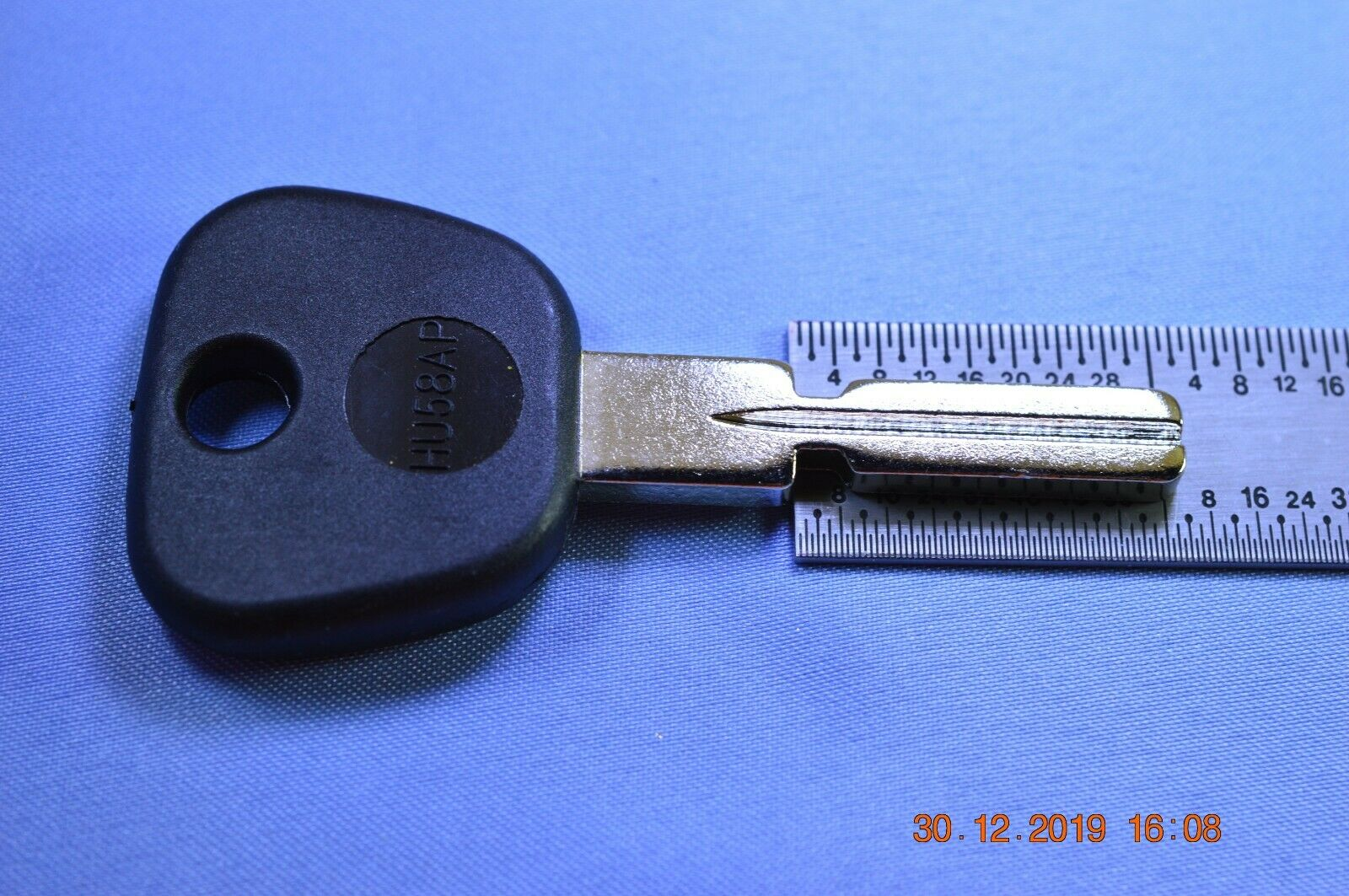to TR40 Silca TOY38RP keyblank for Toyota equiv