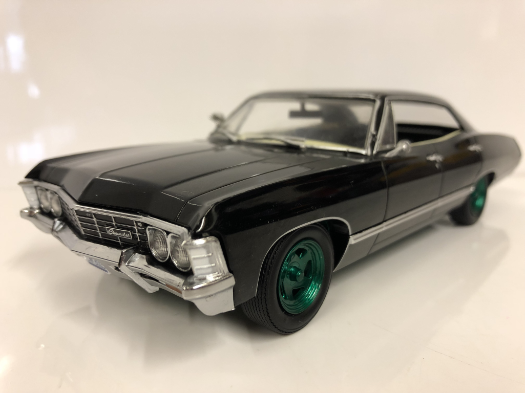 Greenlight Supernatural 1 24 Scale 1967 Chevrolet Impala Sport Sedan For Sale Online Ebay