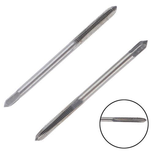 2pcs Straight Fluted Screw Thread Metric Plug Hand Tap Drill Hand M3*0.5mODFS
