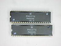Mn6076 original Panasonic (matsushita) 40p Dip Ic 2 Pcs