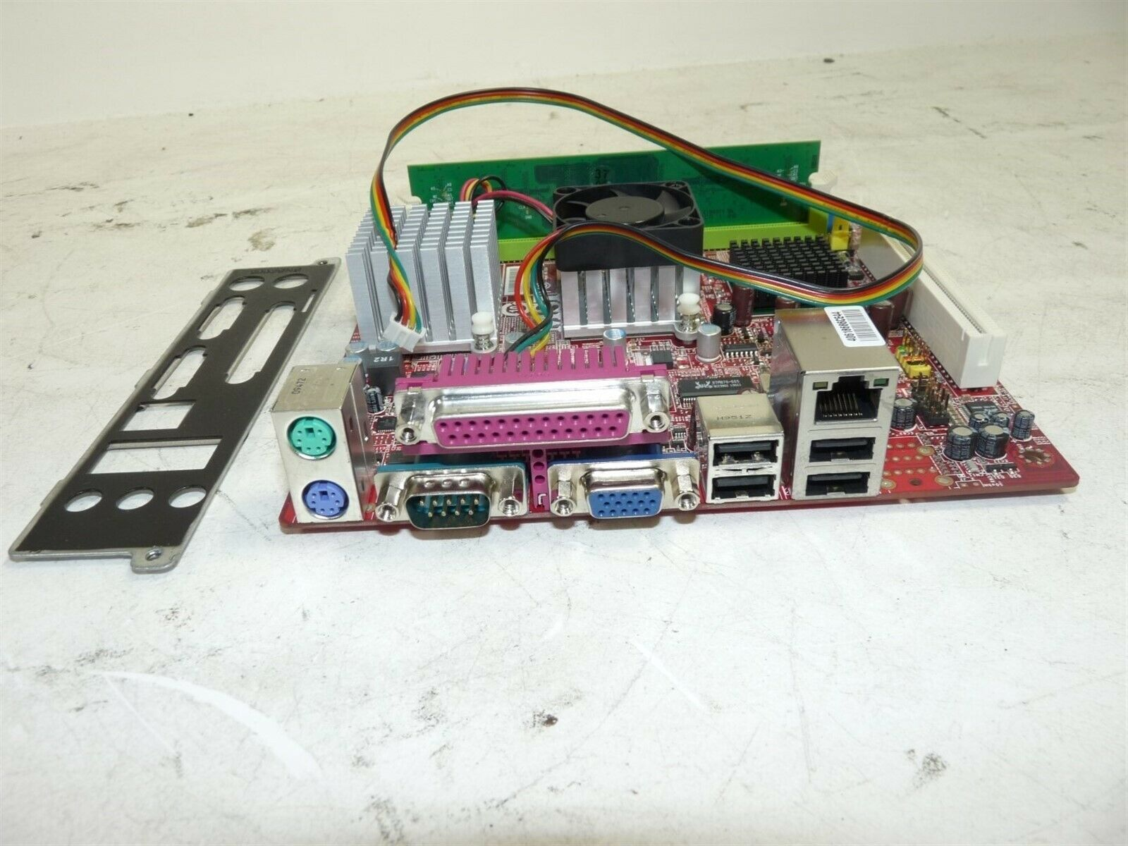 SL5TK,SL68D CPU /& 512MB OF RAM USED /& TESTED MSI MS-6533 VER:1 Motherboard w//1X