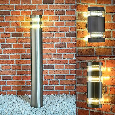 LED Außenleuchte Standleuchte Wegeleuchte Außenlampe Wandleuchte 404
