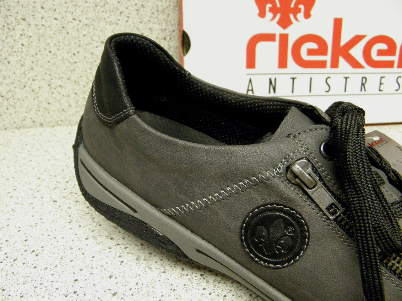 rieker ®  bisher    Schuhe  + gratis Premium - Socken L5224-00 (R390)