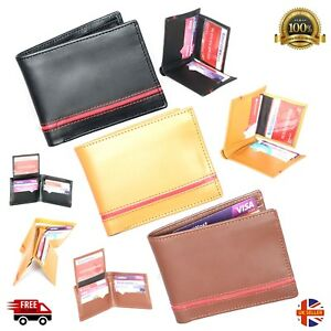 QUALITY Soft Leather Wallet Credit Card Holder Purse NEW