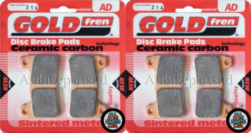 2x Sets for HONDA CBR1000 RR6 FIREBLADE 2006 SINTERED HH FRONT BRAKE PADS