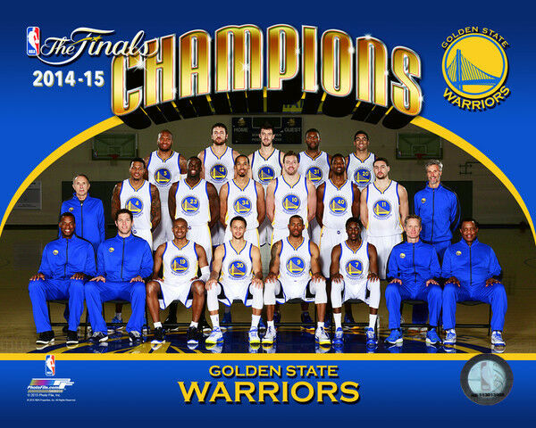 Golden State Warriors Nba Champions Formal Team Photo