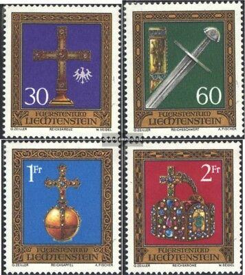 Liechtenstein 625-628 kompl.ausg. Postfrisch 1975 Schatzkammer Warmes Lob Von Kunden Zu Gewinnen