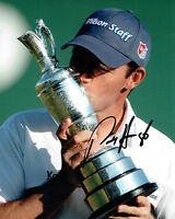 PADRAIG HARRINGTON SIGNED Autograph 10x8 Photo AFTAL COA Open Golf WINNER