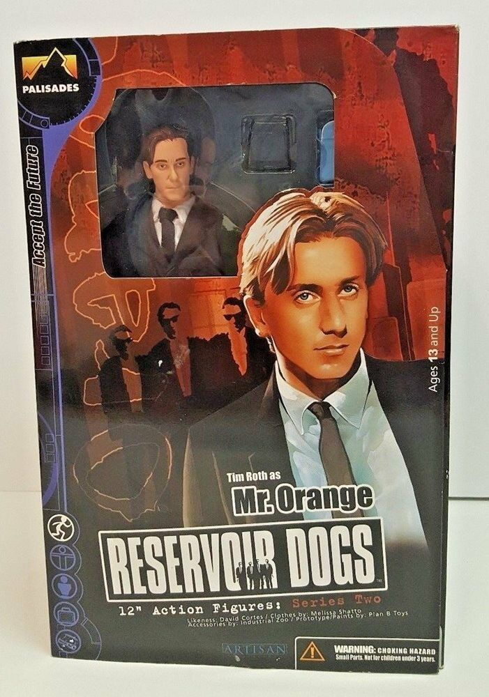 Reservoir dogs (Orange 12  action - figur tim roth quentin tarantino palisades