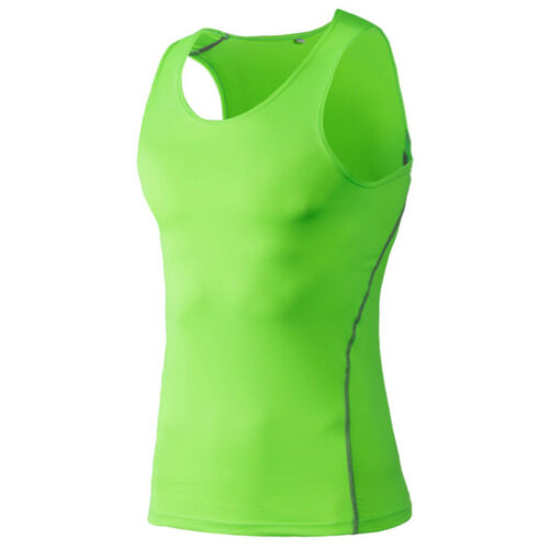 Men Sports Tank Tops Running Fitness Basic Solid Quick Dry Vest Athletic Apparel