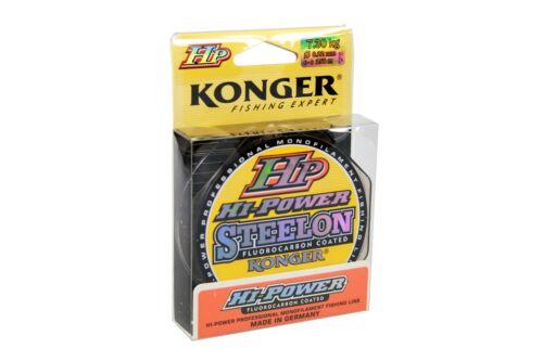 Angelschnur Konger HP HI-Power Fluorocarbon Coated 150m Spule 0,14mm-0,30mm