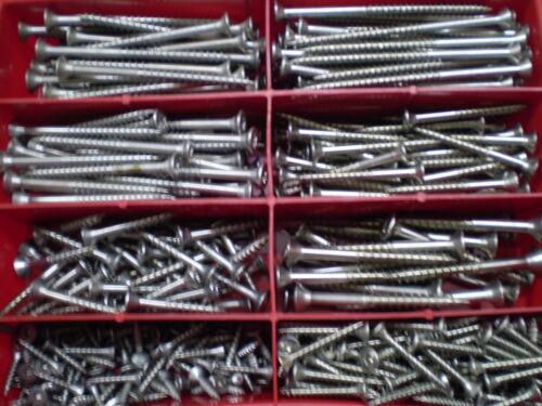 Sortierbox 220 Teile V2A Torx Spanplatten Schrauben Sortiment BOX
