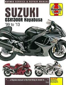 Haynes Handbuch Suzuki Gsx1300r Hayabusa Reparaturanleitung Reparatur Buch Ebay
