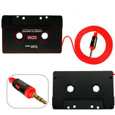 Car Audio Cassette Tape Stereo Adapter for iPod Phone CD MP3/4 AUX 3.5mm Jack