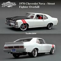 Gmp 18811 1970 Chevrolet Nova - Street Fighter Overkill Diecast Car 1:18