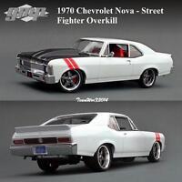 Gmp 18811 1970 Chevrolet Nova - Street Fighter Overkill Diecast Car 1:18