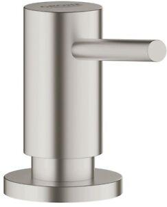 15-oz-Kitchen-Bath-Sink-Liquid-Soap-Lotion-Dispenser-SuperSteel-Infinity-Finish