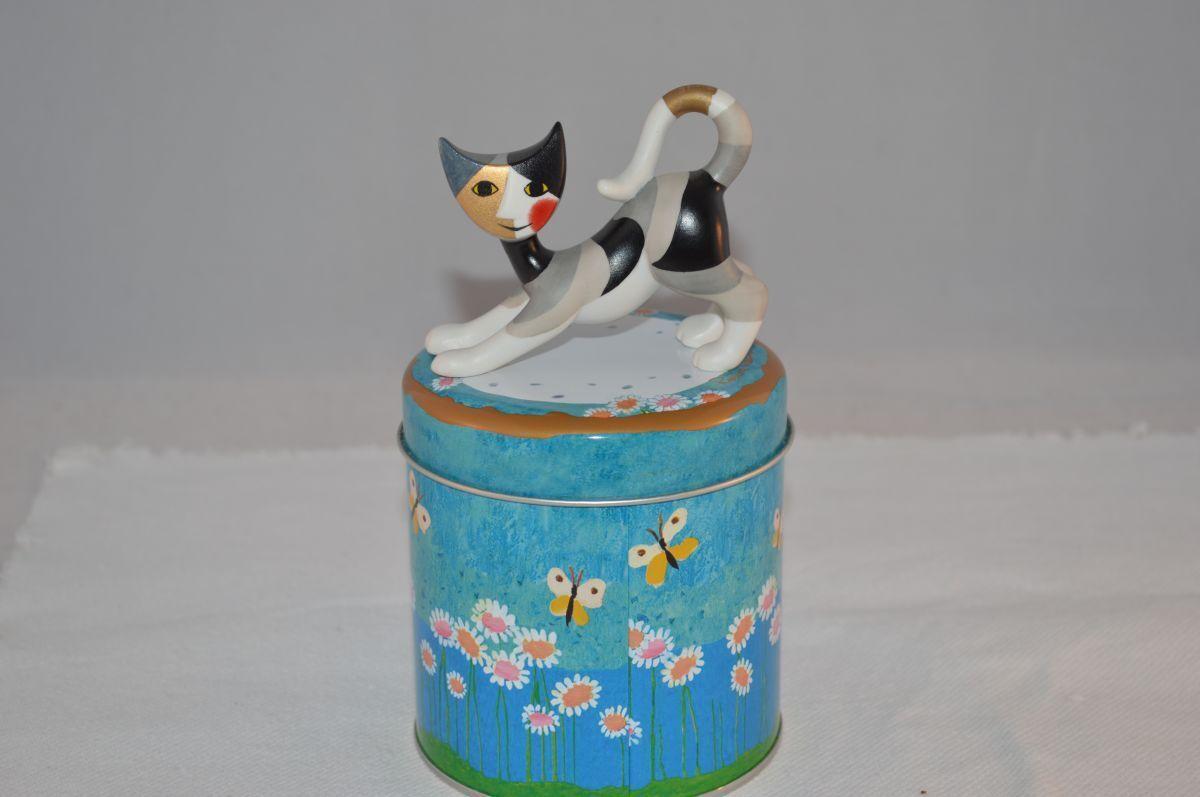Goebel Rosina Wachtmeister Katze Minikatze Gina  sehr selten  OVP NEW