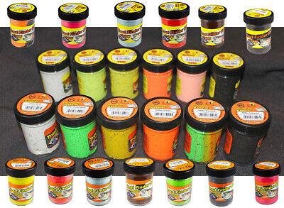 FTM TFT Trout Finder Bait Tuna Glitter Paste 50g Schwarz Wei/ß Schwimmend 7323037 Thunfisch Forellenteig Forellenpaste Teig Paste Forellenangeln