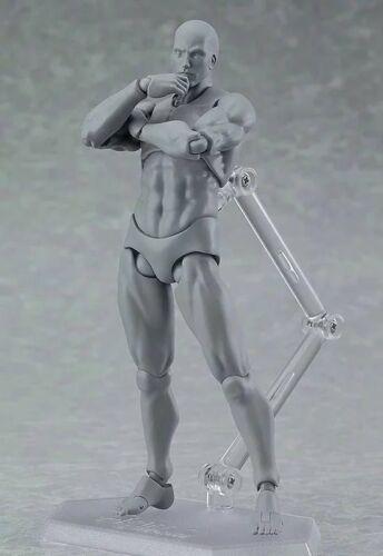 2.0 Body Kun Doll PVC Body-Chan DX Action Figure Model Drawing For SHF She//he