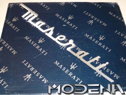 Maserati Schriftzug Kofferraum Scritta Trunk Emblem Sign Mark 4200 Coupe 34 cm