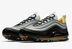 Details about Nike Air Max 97 Black Yellow Pittsburgh Steelers 921826 008 Sz 11.5 New