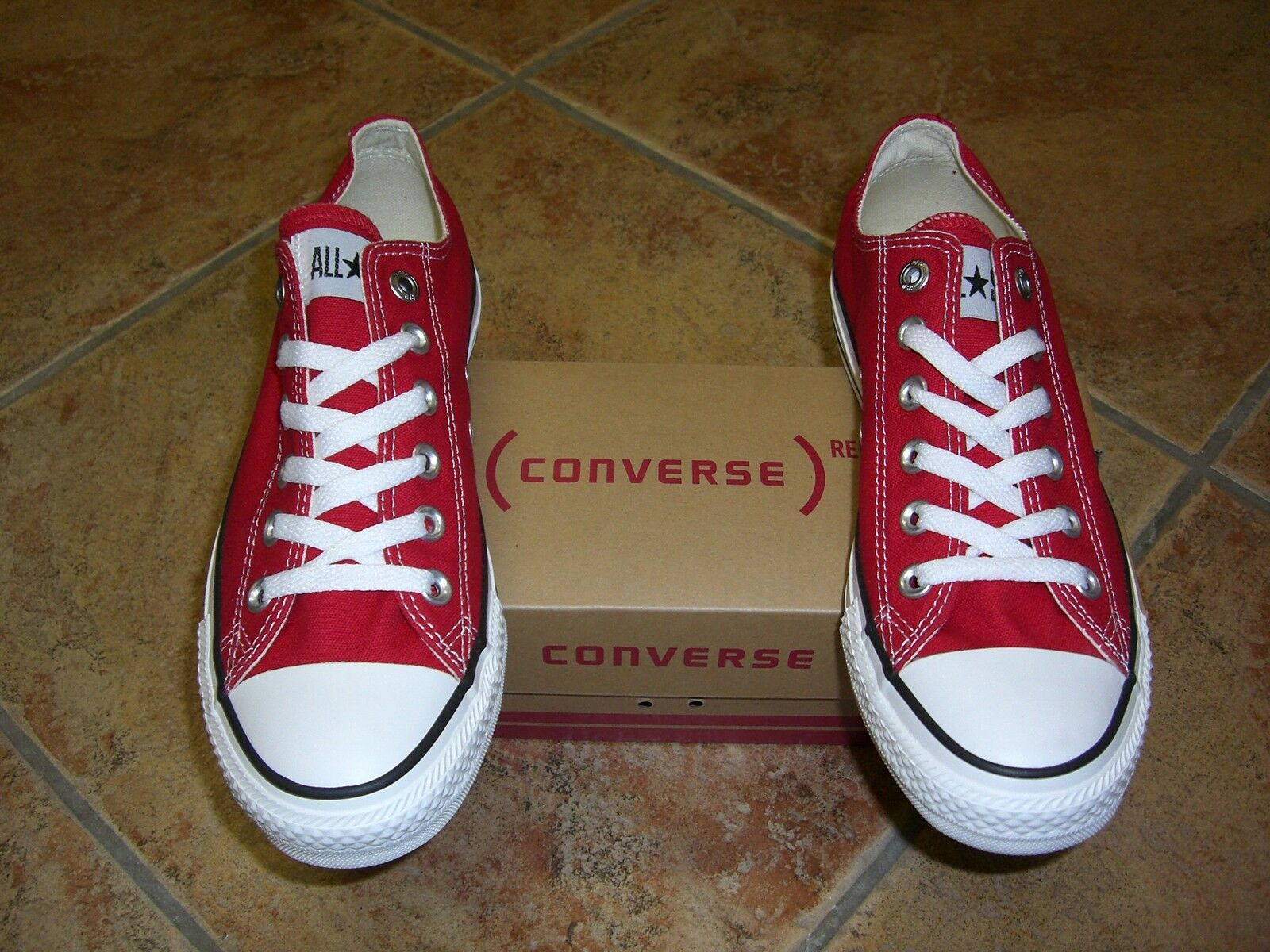 Converse  Chucks  All Star  OX  Gr.46,5  Red  Rot  M9696  Neu  Super Trendy