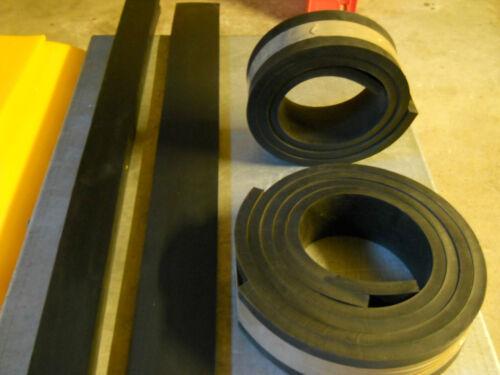 Schürfleiste Gummi hochabriebfest 1250 x 150 x 20 mm Schneeräumleiste