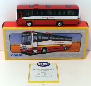 CORGI 1/50 SCALA DIECAST 91915-Plaxton Coach-TELLUS MIDLAND ROSSO-NO CERT Inc
