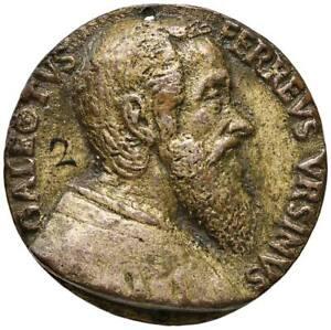 s924-Galeotto-Ferreo-Orsini-XVI-secolo-Medaglia-Busto-dx-Allegoria-45-Foro