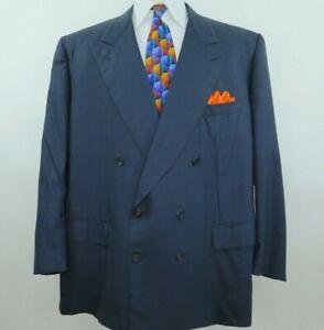 Belvest-Men-039-s-Super-150-039-s-Wool-Italian-Blazer-Jacket-Sport-Coat-52-R-Big-Man-EUC