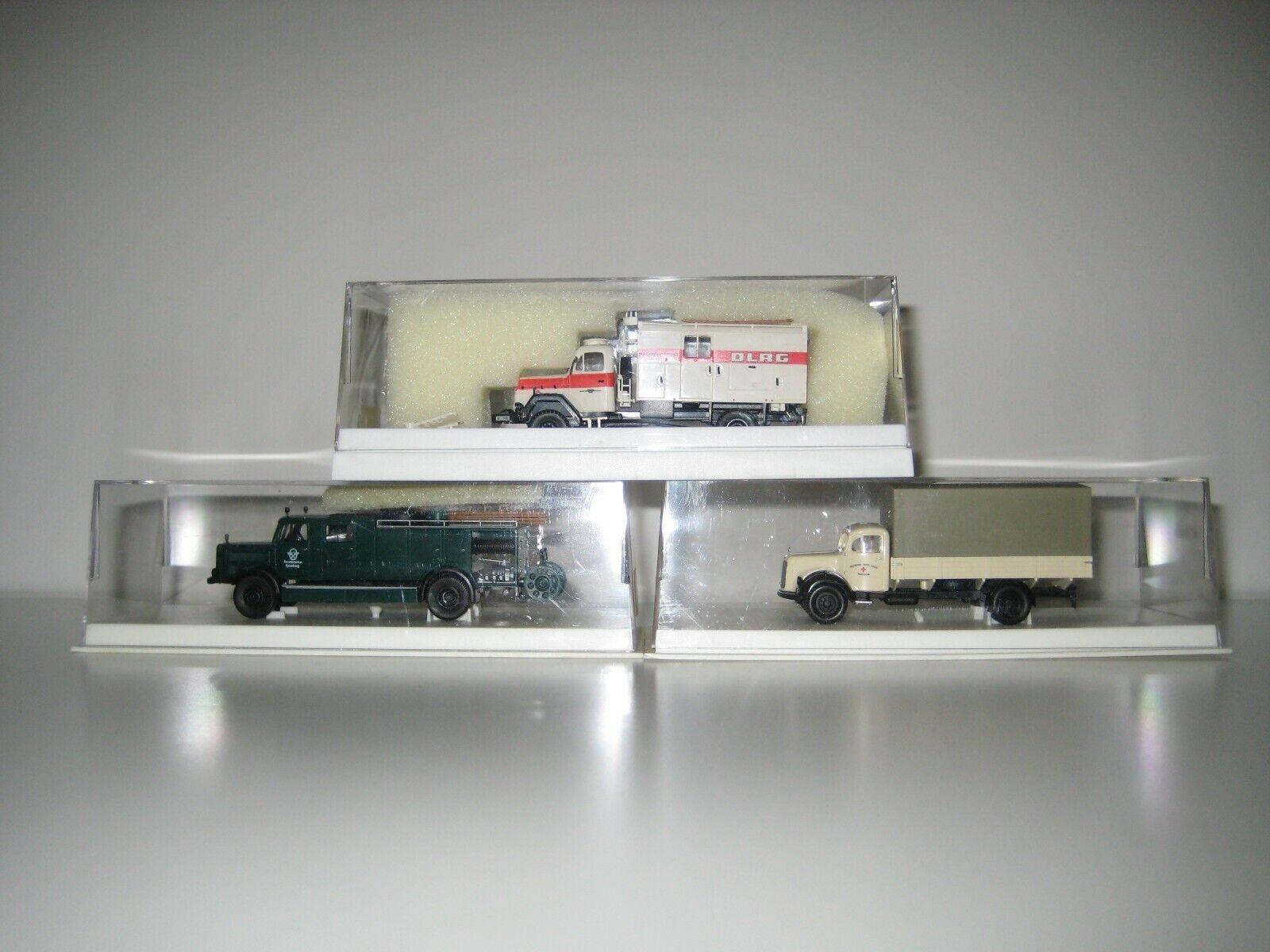 Berkina H0 4423, 4207 & 4644 - 3 camiones