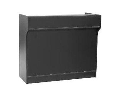 122CM Register Stand Counter Showcase Display Cabinet #LTC4BK