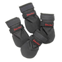 Dog Boots Ultra Paws Blk Rugged All Weather Booties For Snow Ice Mud Asphalt